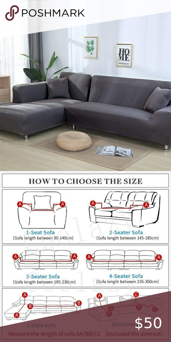Brand New Sofa Cover Sofaspanx Can Be Used For L Shaped Sofa Covers 2 Gray 3seater 185 230cm Brand New Purchase In 2020 Sofa Covers Couch Styling L Shaped Sofa