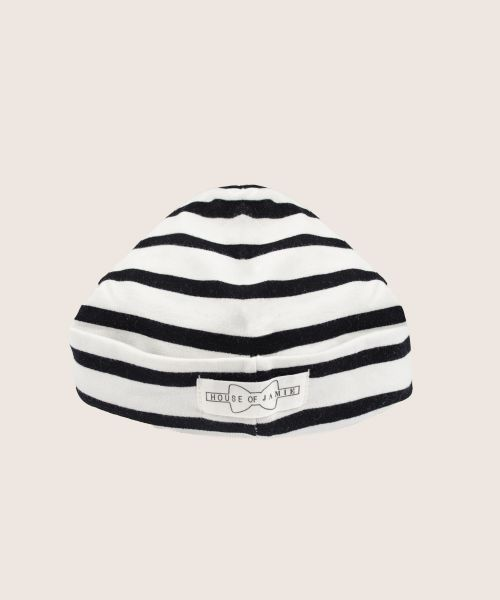Black and white striped hat - House of Jamie | Fancy Kids London