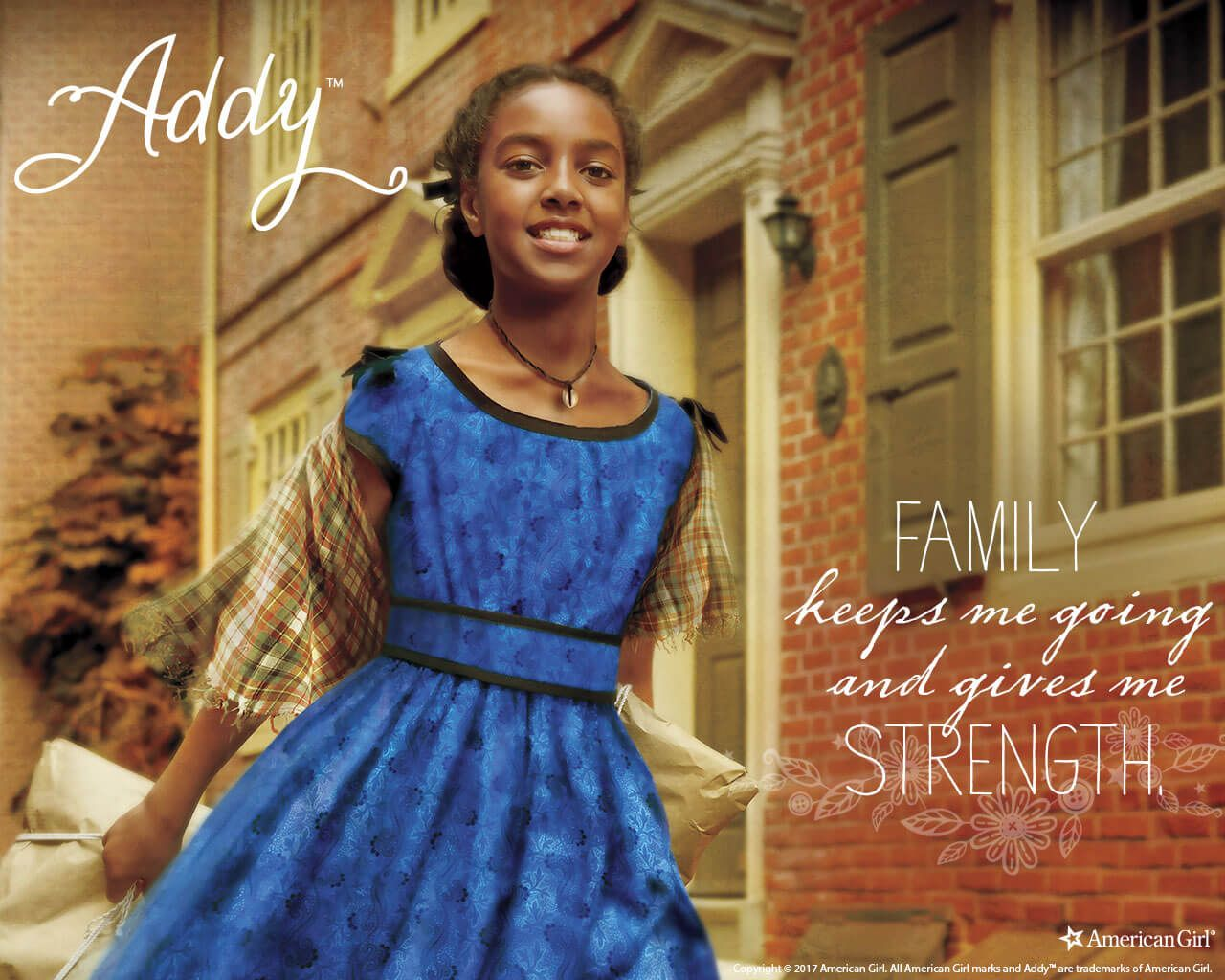 Addy wallpaper with images american girl civil war