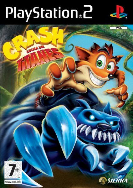 Crash Lucha De Titanes Ps2 Descargar Gratis Videogame Games