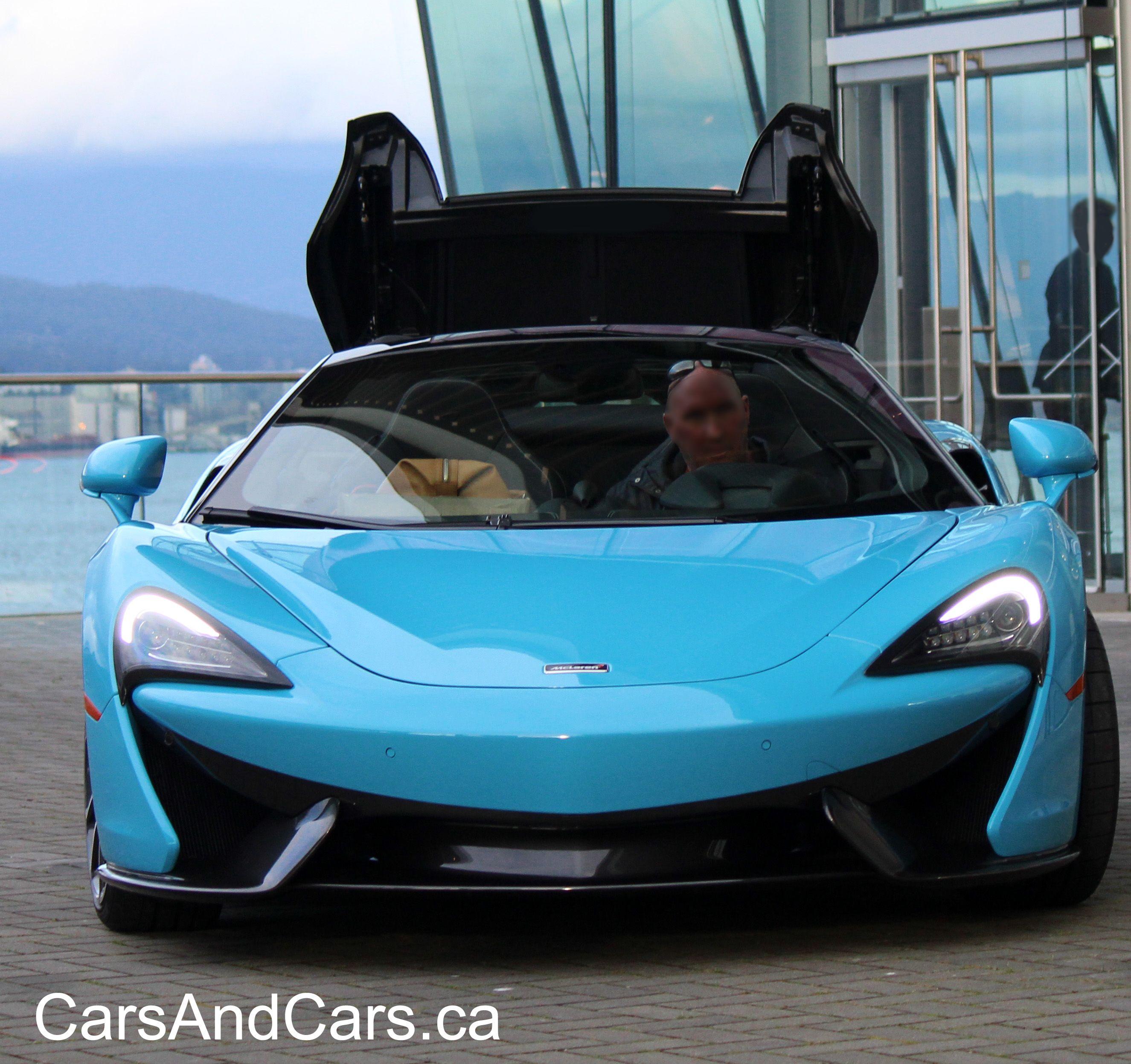 McLaren 570S Spider In Curacao Blue #SuperCar #SportCar
