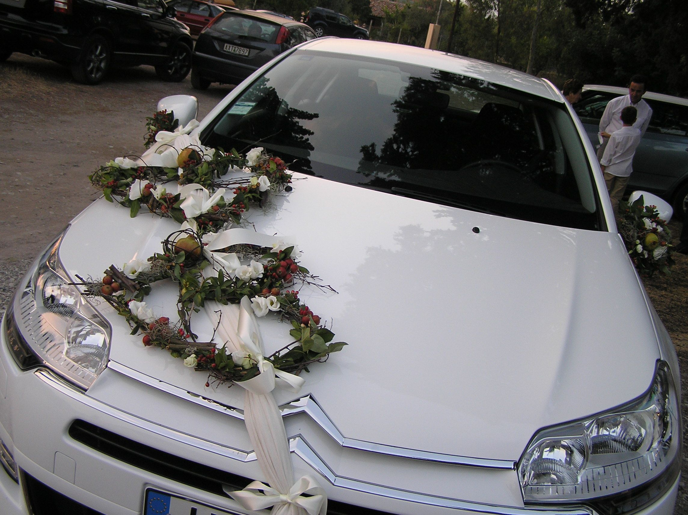 Wedding decorations for car  Wedding car decorations  Wedding ideas  Pinterest  Wedding car