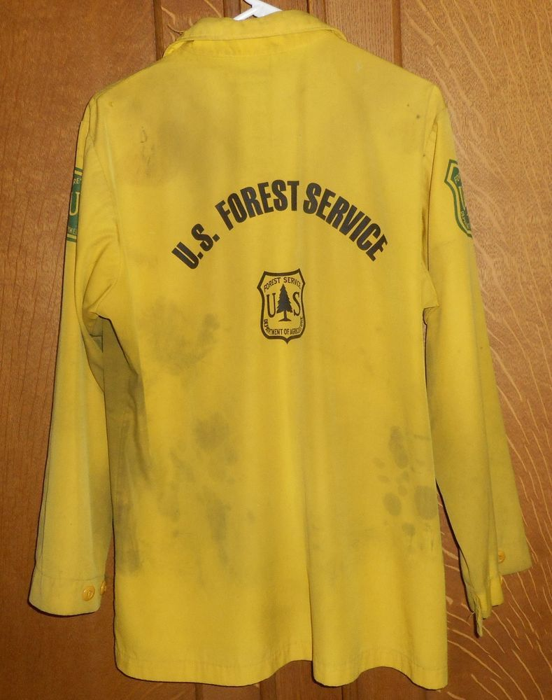 eBay Sponsored US Forest Service Wildland Firefighter