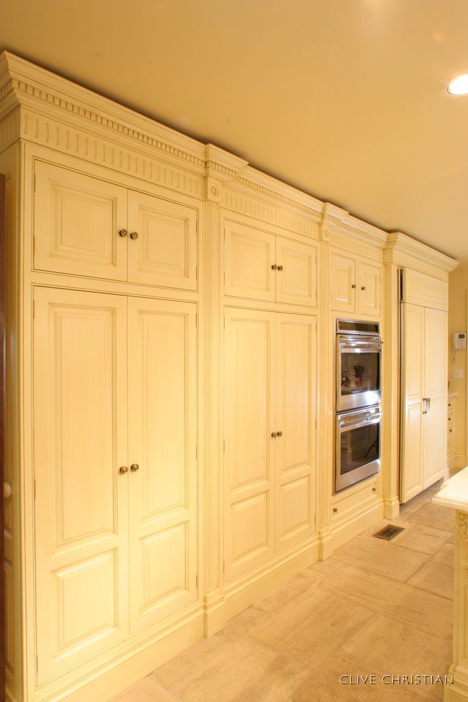 Clive Christian Victorian Kitchen in Antique Cream