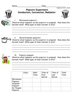 Conduction Convection Radiation Worksheet | Homeschooldressage.com