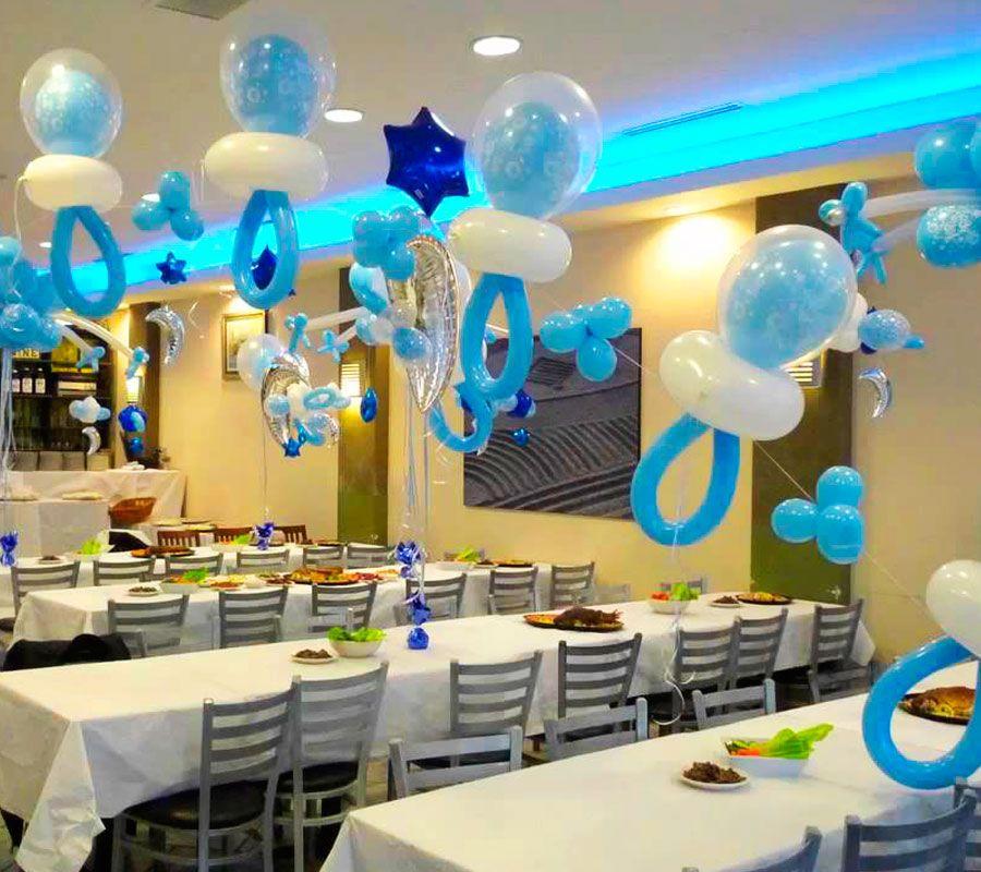 Decoraci nes con globos en madrid para baby shower en - Adornos baby shower nino ...