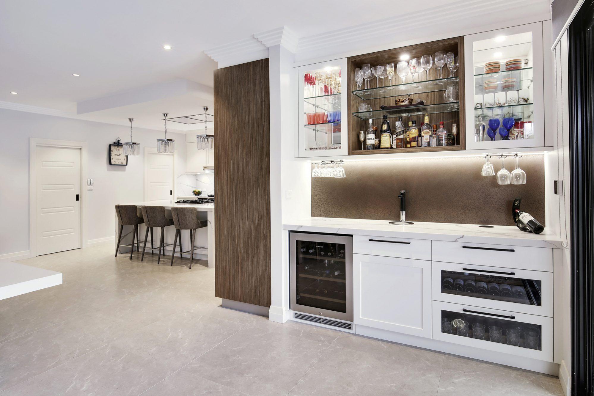 Killarney Heights Kitchen Interior design kitchen, View