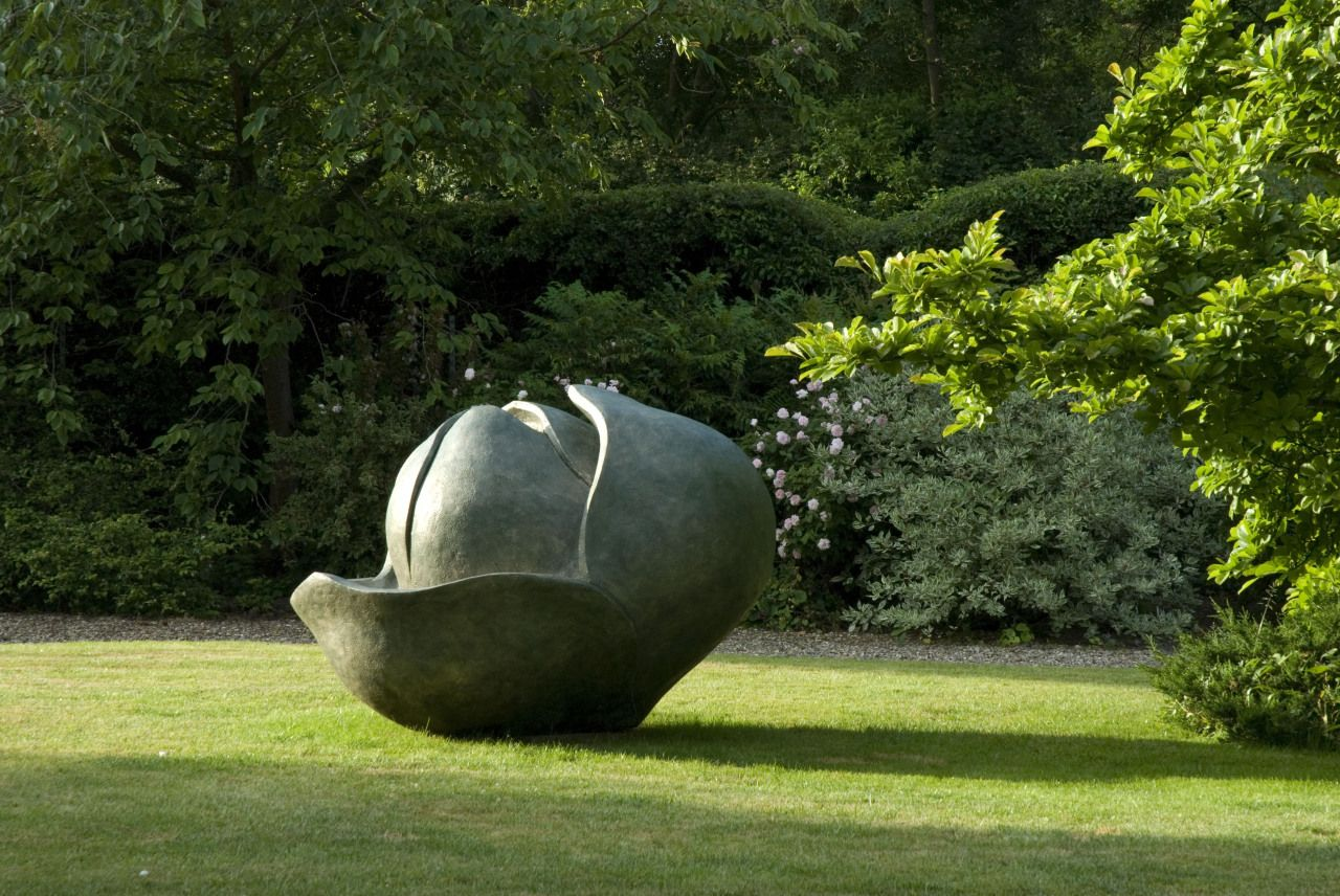 Anne Curry - Monumental Magnolia Grandiflora Bud | From a unique collection of abstract sculptures at http://www.1stdibs.com/art/sculptures/abstract-sculptures/