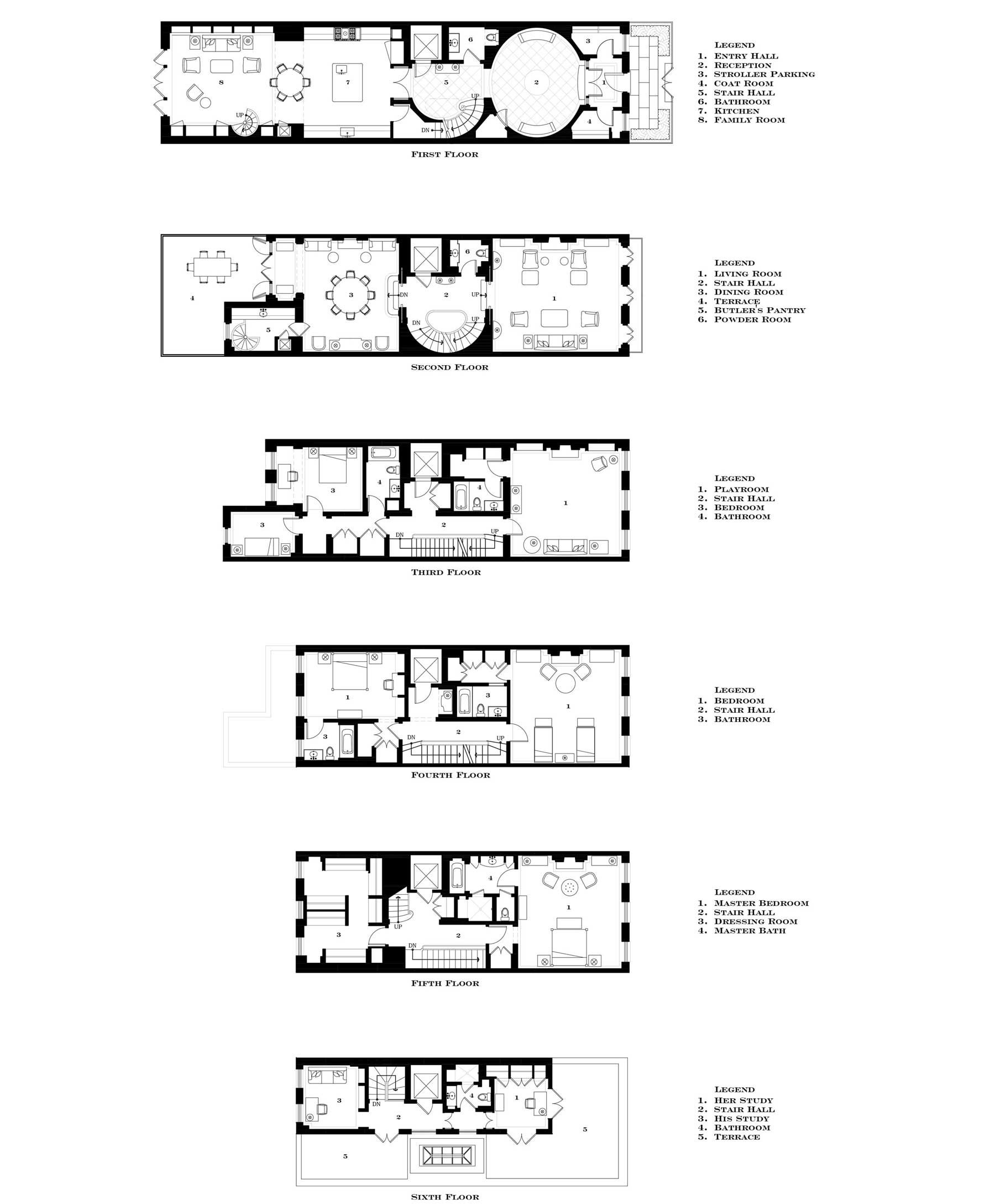 East Side Townhouse G P Schafer Architects Townhouse East Side How To Plan