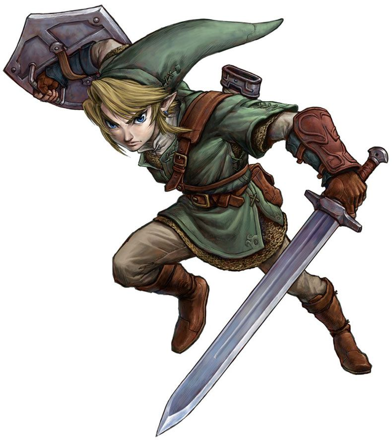 Link Action Pose From The Legend Of Zelda Twilight Princess Link Twilight Princess Zelda Twilight Princess Legend Of Zelda