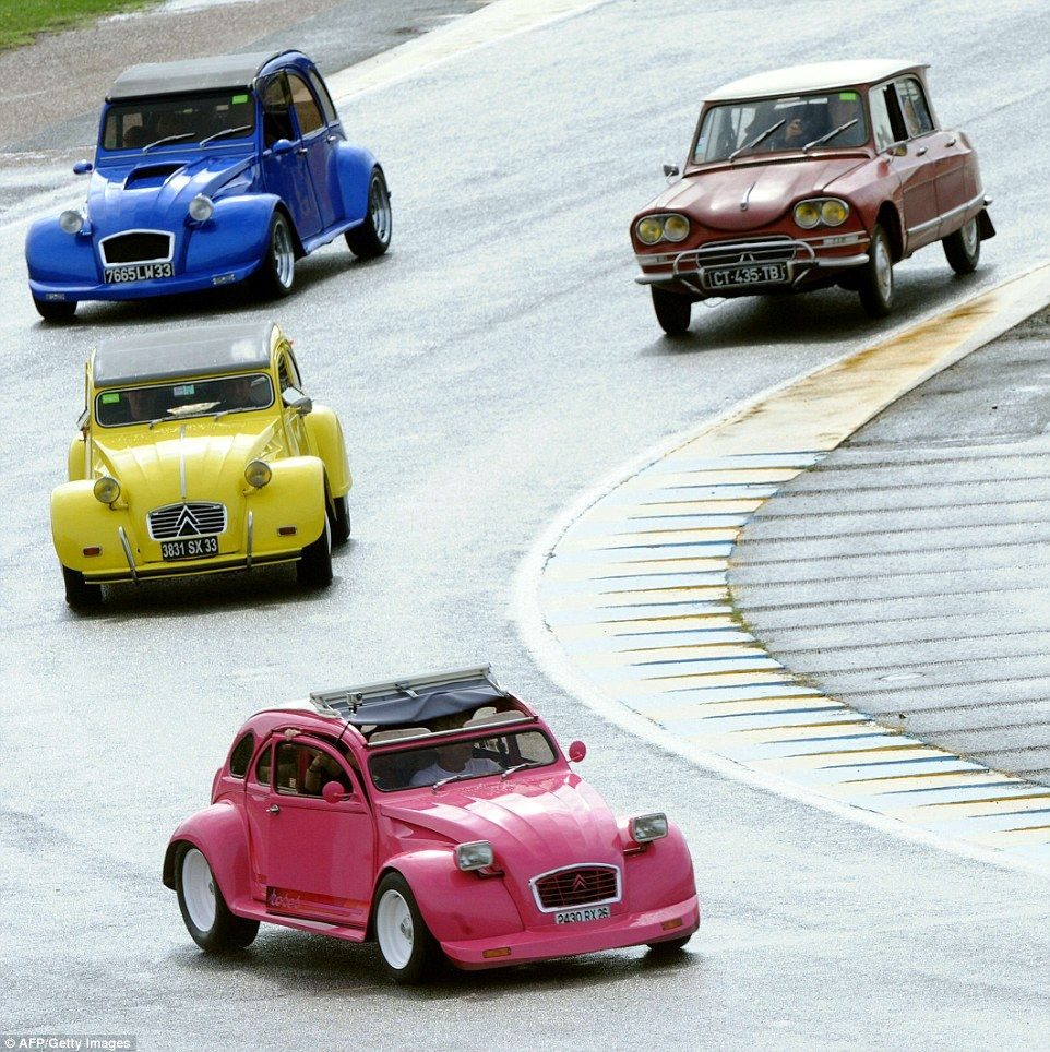 Bright and bold: Many of the cars have been heavily modified and modernised by enthusiasts...