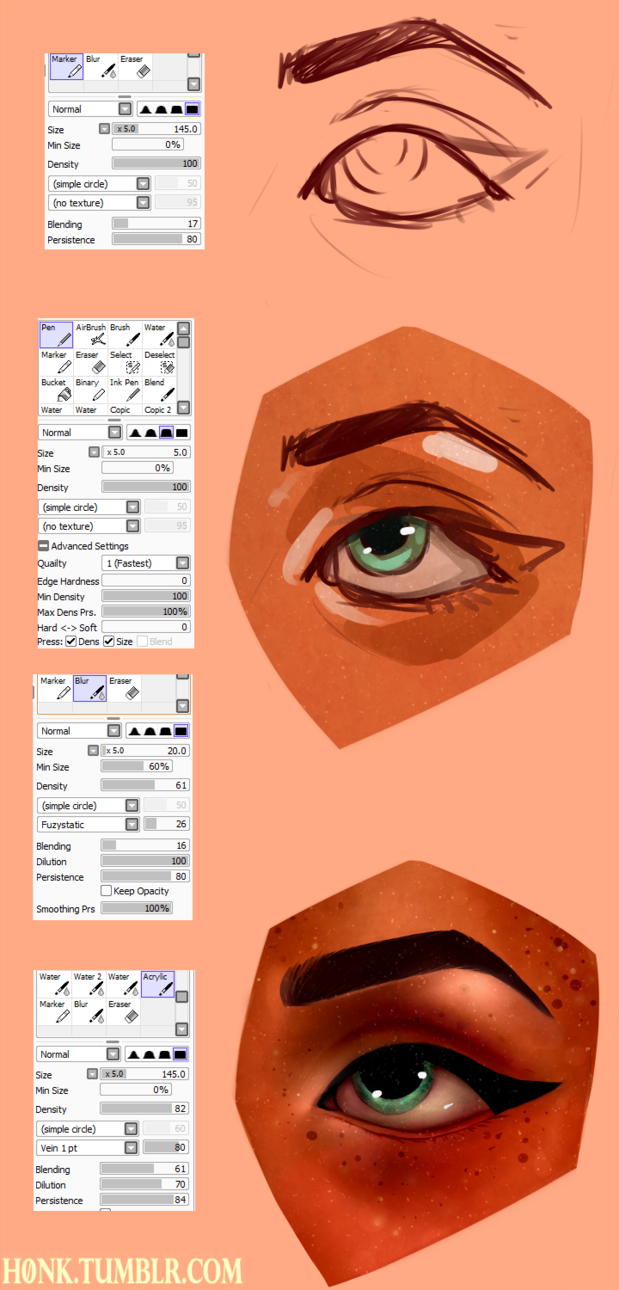 paint tool sai ver.1 tutorial