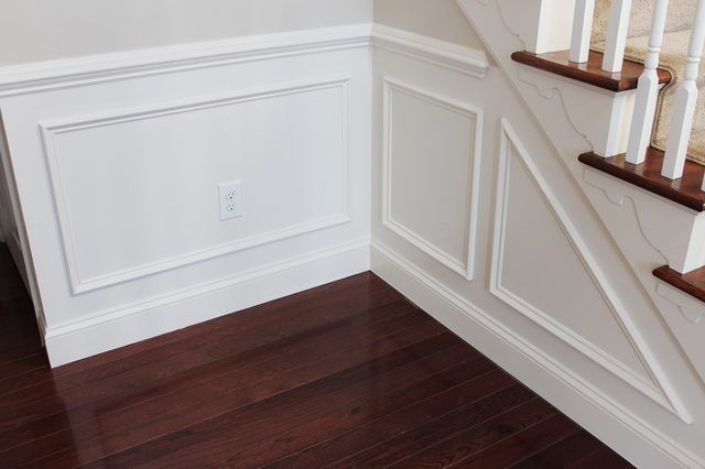 How To Add Molding Squares To A Wall Moldings Trim