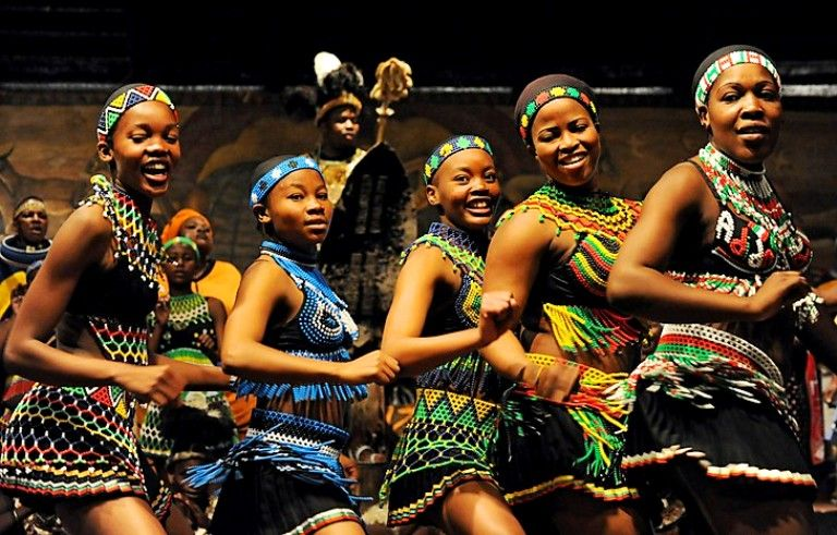 Dancers In Traditional Costume Perform African Dances Photo Credit MUSTAFA OZER AFP Getty Images