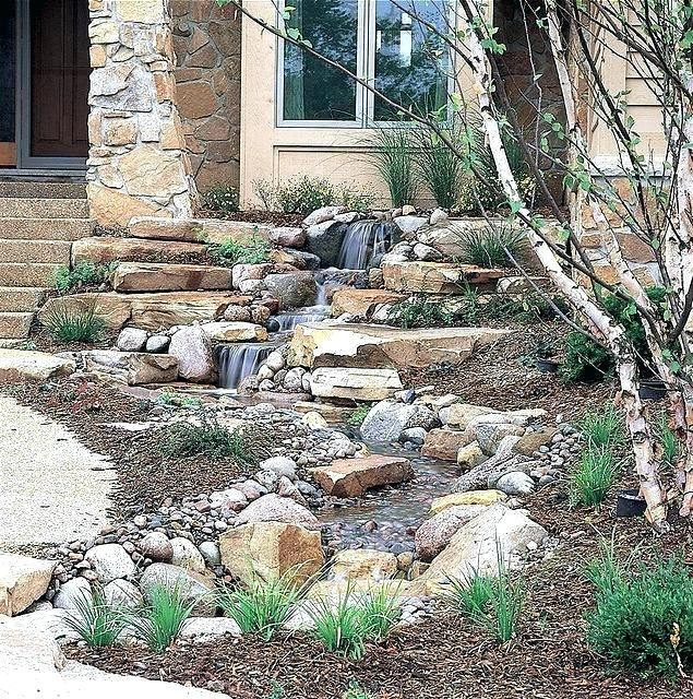 backyard water features las vegas small front yard water ...