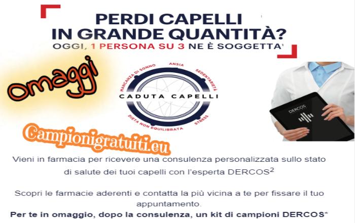 Campione Gratuito Kit prodotti Dercors offerti da Vichy
