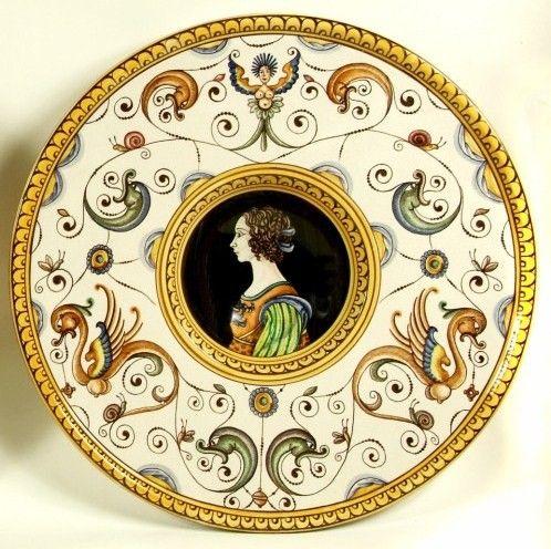 Decorative plate   Italian Ceramics   french linen ...