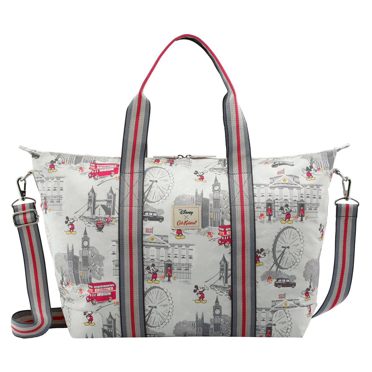 b30667acfd2c Mickey in London Foldaway Overnight Bag