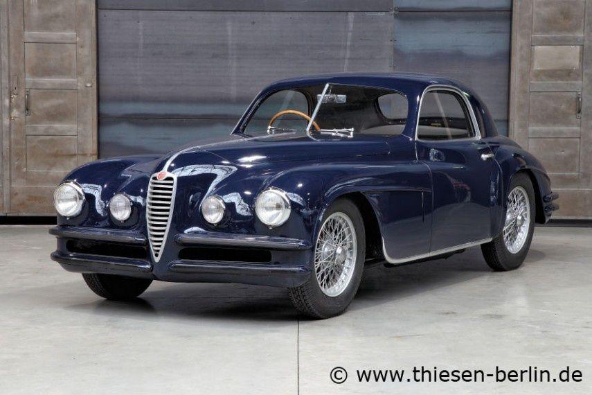 1948 Alfa Romeo 6C 2500 SS Touring Coupe