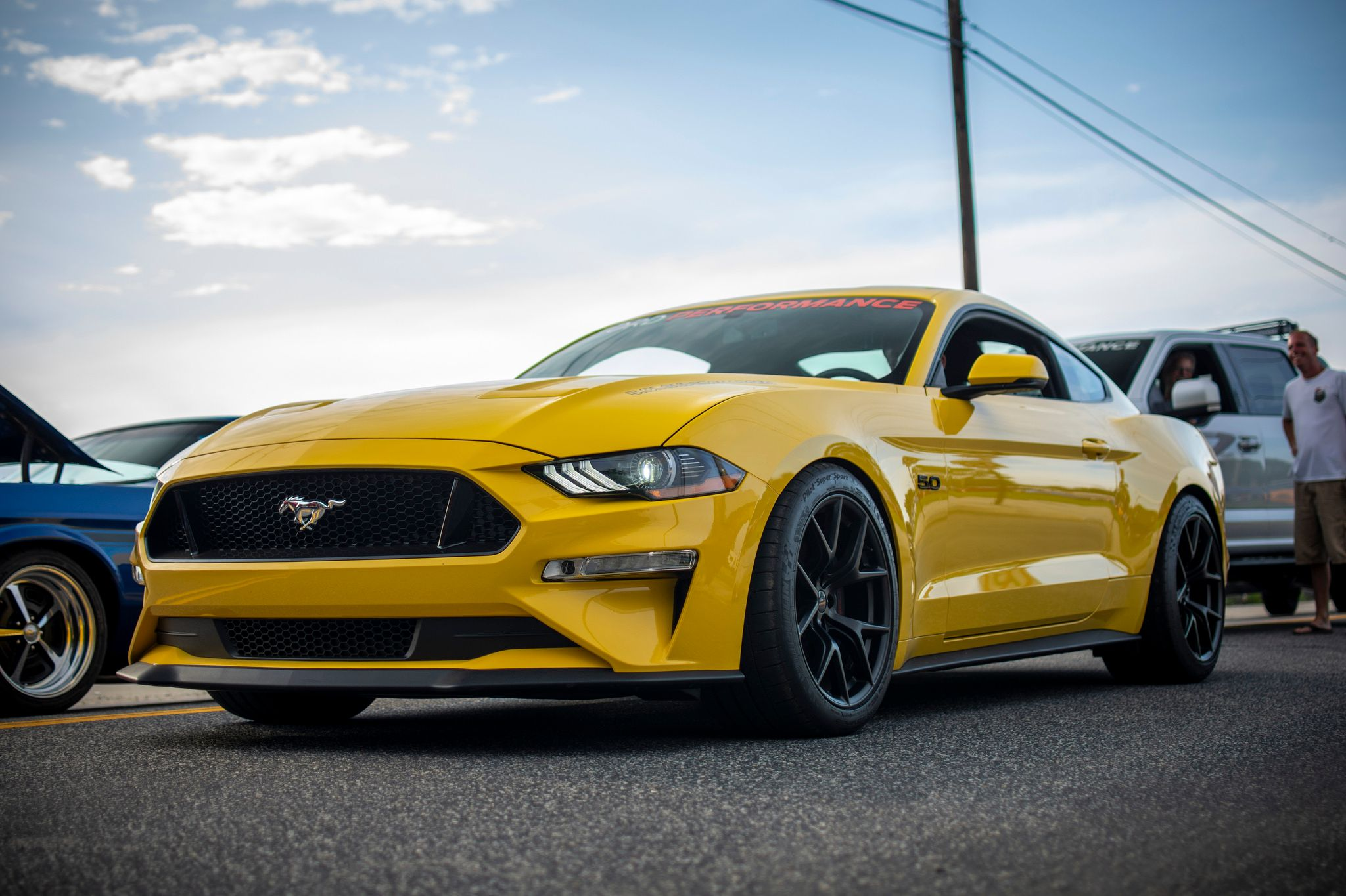 Ford Performance's 2018 Mustang looks good in any light