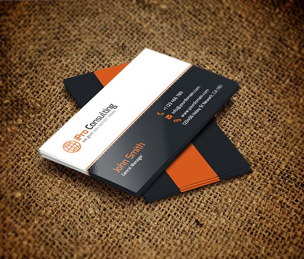 Free psd ipro consulting business cards free business cards even in this digital era business cards are the fastest and easiest way to give people your contact information enjoy these 20 free psd business card colourmoves
