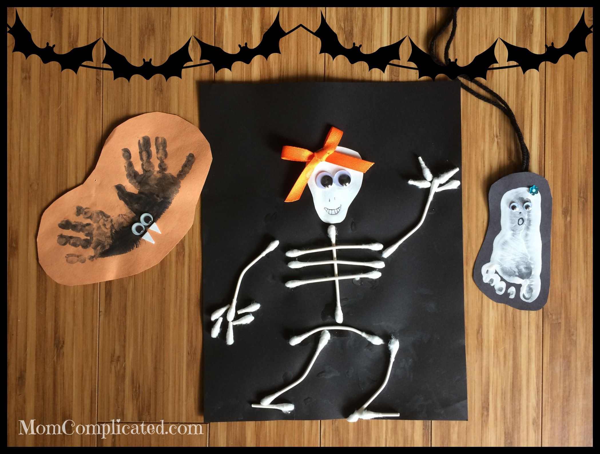 Home Spooky Home: Easy Halloween Crafts | Easy halloween and ...
