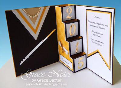Grace Notes For Today Graduation Pop Up Card Graduation Cards Handmade Graduation Cards Diy Congratulations Card Graduation