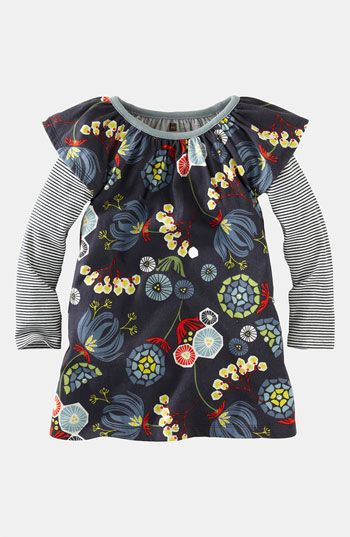 Tea Collection 'Nordic Blooms' Dress (Little Girls & Big Girls) available at #Nordstrom