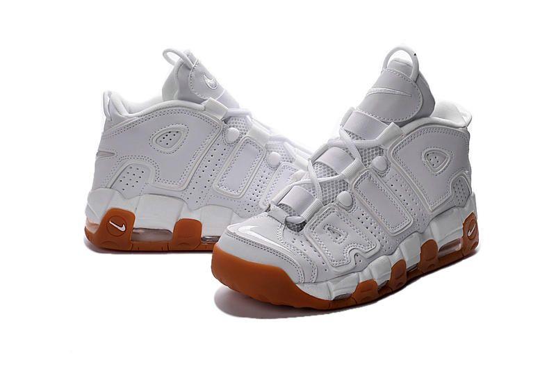 e8d29916b4e362 Nike Air More Uptempo 2016 White White Gum 414962-103