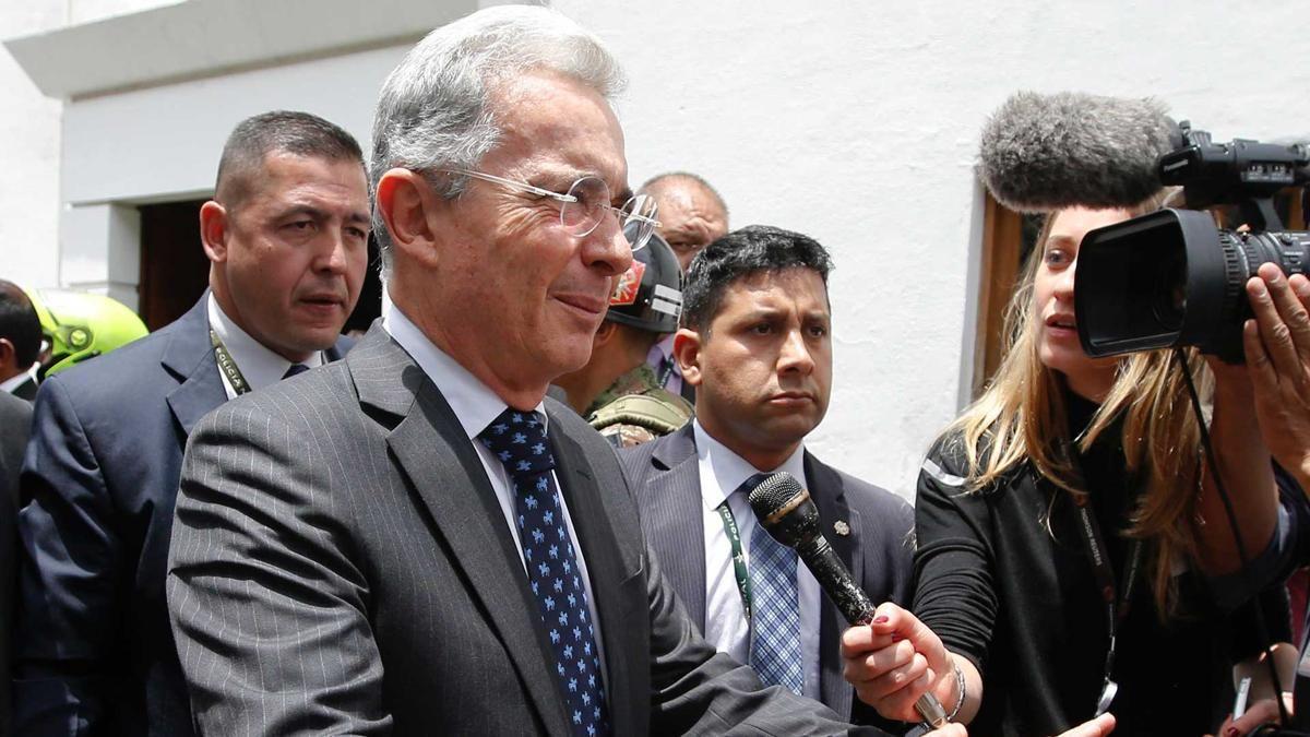 Álvaro Uribe presentó sus propuestas para modificar el acuerdo con las FARC - Infobae.com