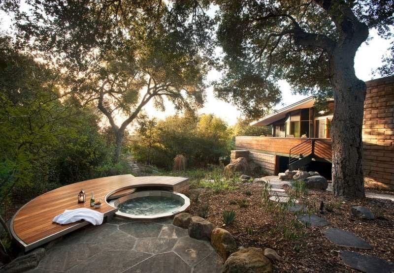 Bildergebnis Für Whirlpool Im Garten Gestalten