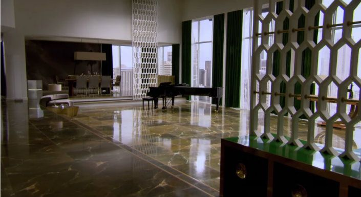 See Inside Grey S Apartment In Fifty Shades Of Large Living Room Set Fiftyshadesmovie