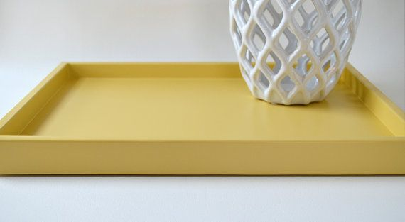 Golden Yellow Ottoman