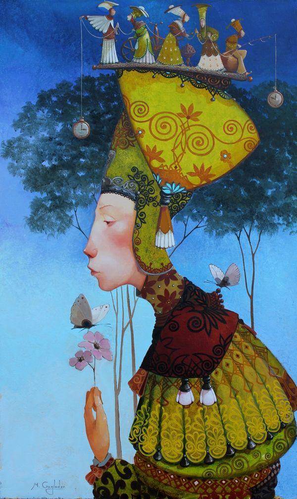 The Thime by MERAB GAGILADZE. Born 1972 in Tbilisi, GEORGIA.