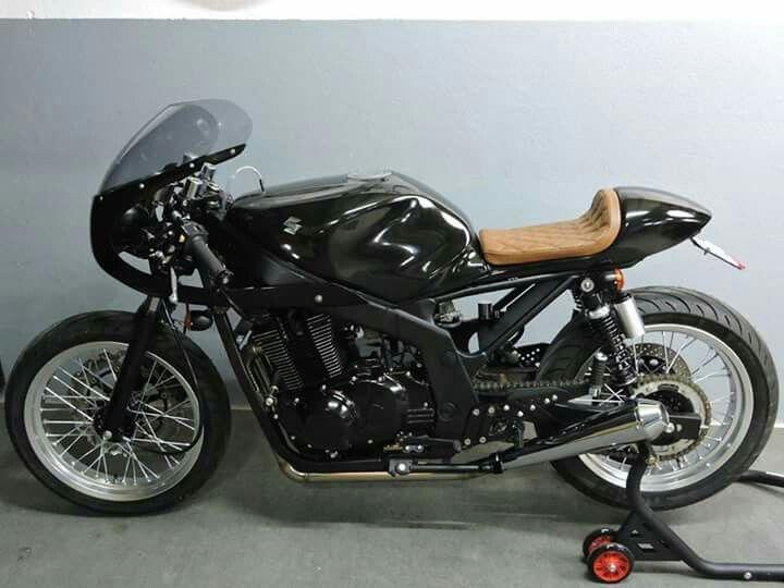 suzuki gs500 cafe racer bikes pinterest. Black Bedroom Furniture Sets. Home Design Ideas