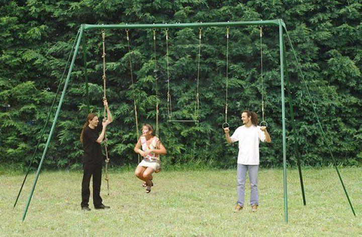Large Adult Garden Swing Set Outside Fun Ideas