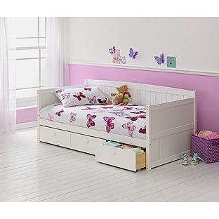 Marnie Single Day Bed Frame White At Argos Co Uk Visit