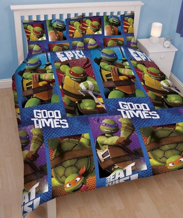 Teenage Mutant Ninja Turtles Dudes Double Queen Bed Reversible Quilt Set Teenage Mutant Ninja Turtles Duvet Sets Quilt Sets