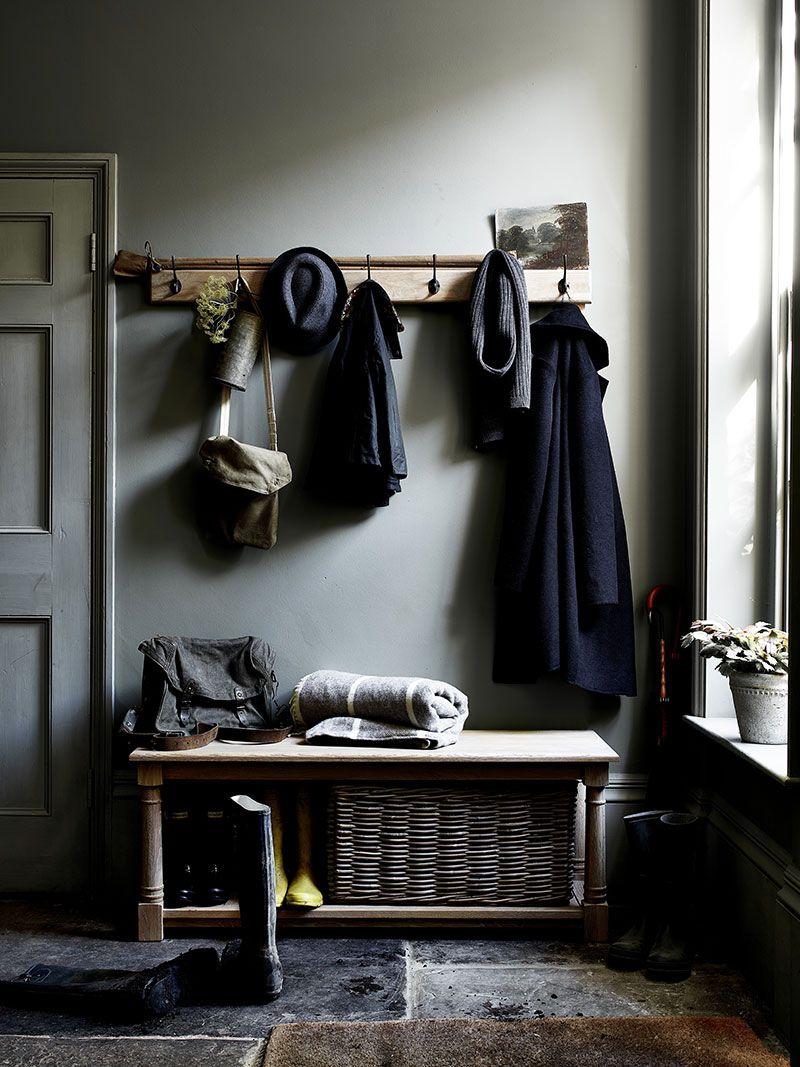 Atmosfernyj Anglijskij Interer Ot Neptune Foto Idei Dizajn Meuble Couloir Porte Manteau Mural Banquette De Couloir