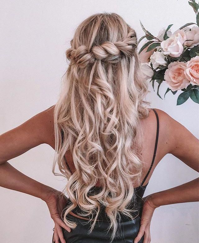 Twisted Up Side Bun - Side Updos, That Are in Trend: 40 Best Bun Hairstyles for 2019 - The Trending Hairstyle
