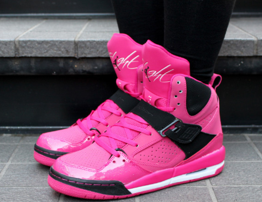 air jordan flight pink