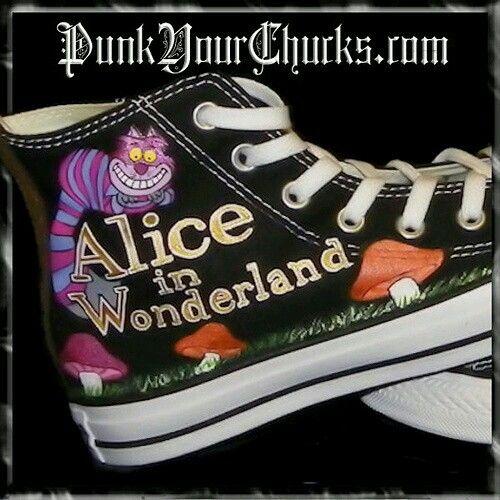 converse alice in wonderland