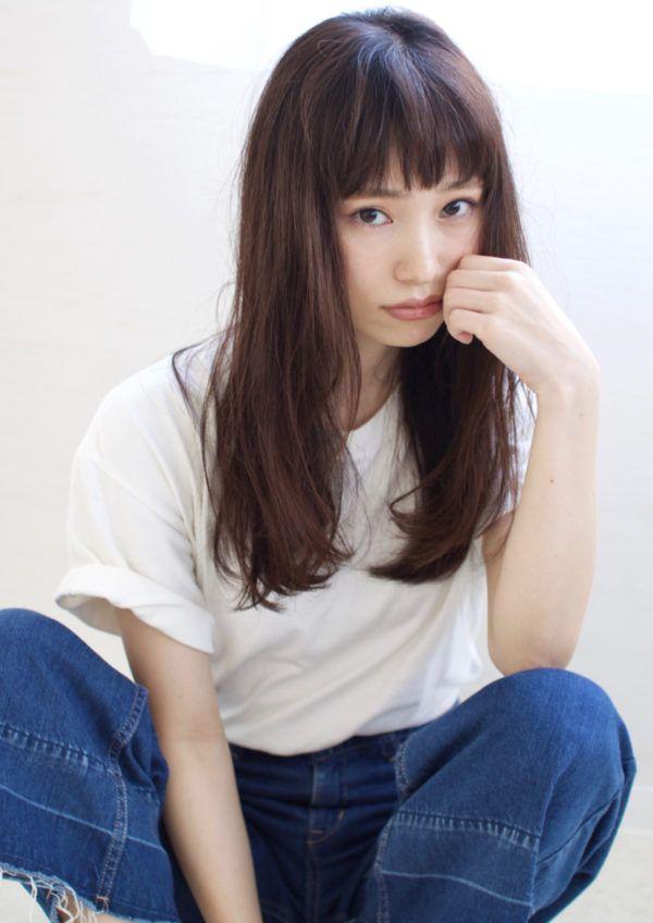 ぱっつん前髪&アレンジ大特集☆レングス別におすすめ ...