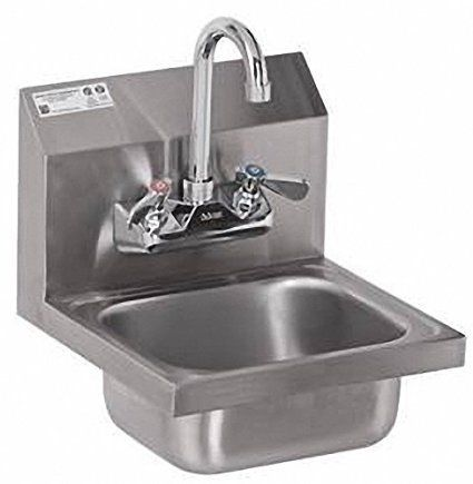 Best Kitchen Faucet | Stainless Steel Hand Sink NSF Commercial ...