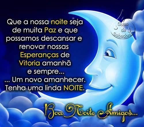 Boa Noite Imagens Mensagens E Frases Para Facebook