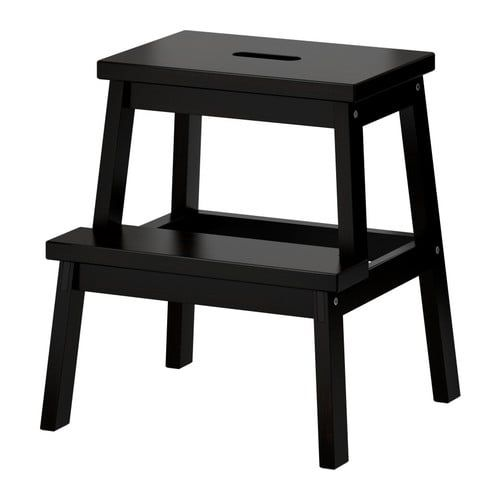 Bekv 196 M Step Stool Black 19 5 8 Quot Ikea Stool Kitchen