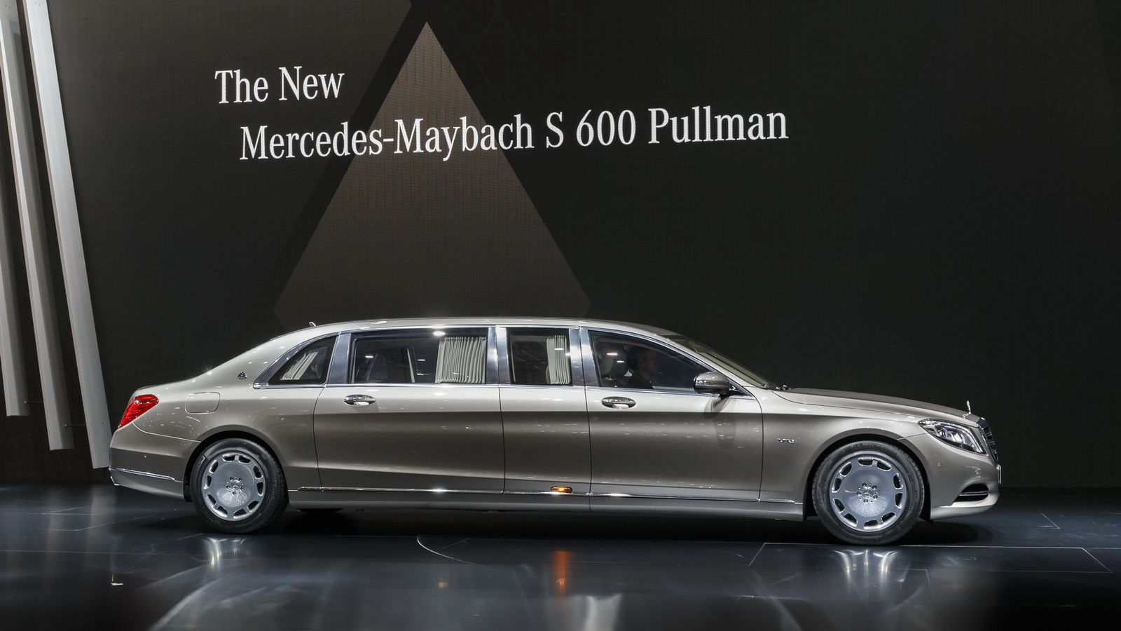 Mercedes Maybach S600 Pullman Is The Epitome Of Three Pointed Star