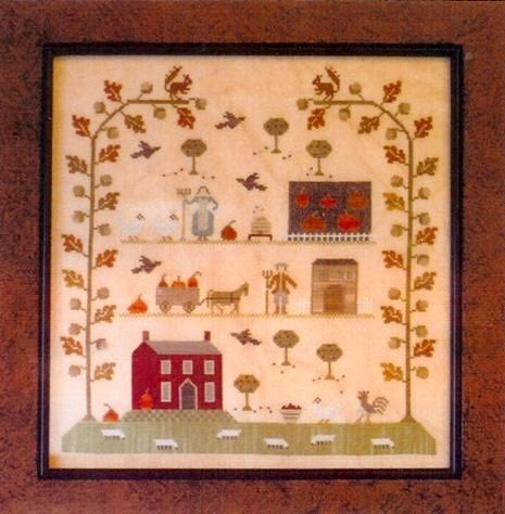 Cross Stitch Pattern  Sampler of the Season  by FiddlestixDesign, $9.95