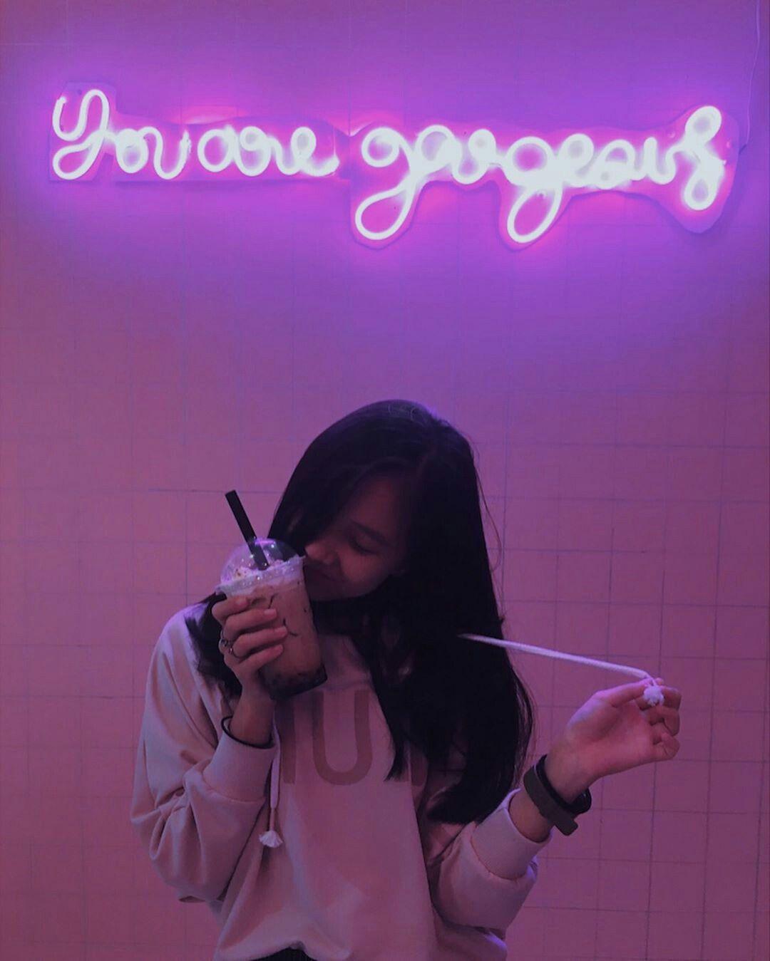 Pin Oleh ช ม น ช ดอ าส Di Girl Di 2020 Fotografi Remaja Potret Diri Gadis Tumblr