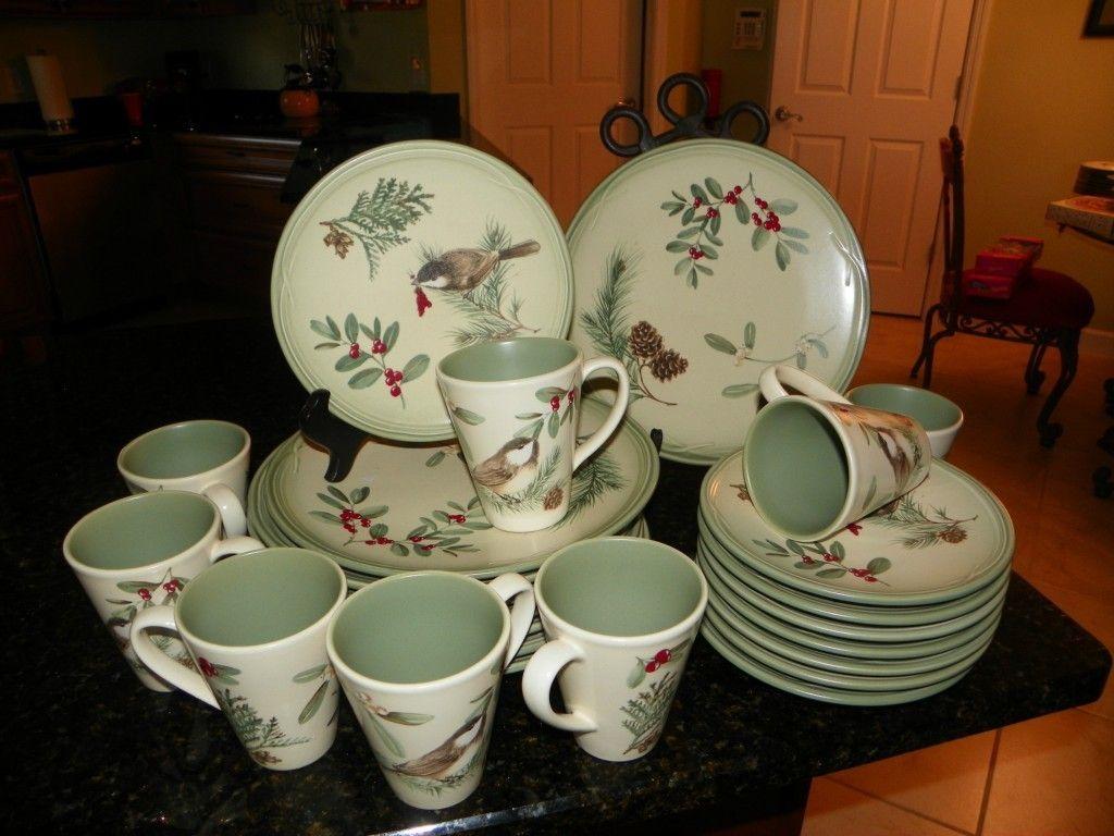 Pfaltzgraff Winterwood (Green) Salad Serving Bowl Fine China - 9681852639. Christmas DinnerwareChristmas ... & Pfaltzgraff Winterwood | eBay It is discontinued but I love love ...